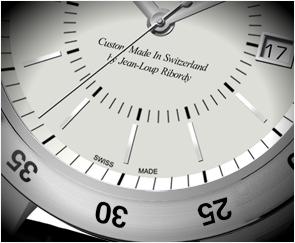 Swiss Made Watch by Ribordy