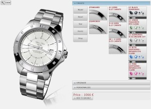 Ribordy Watch Configurator